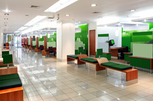 Office area green